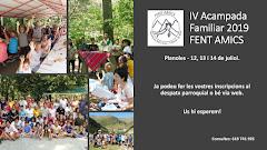 IV ACAMPADA DE FAMÍLIES-FENT AMICS