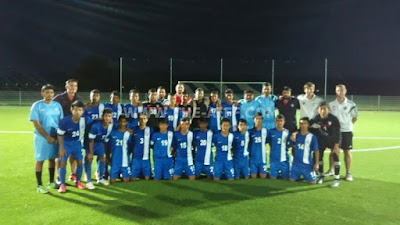 India U-16 in Germany