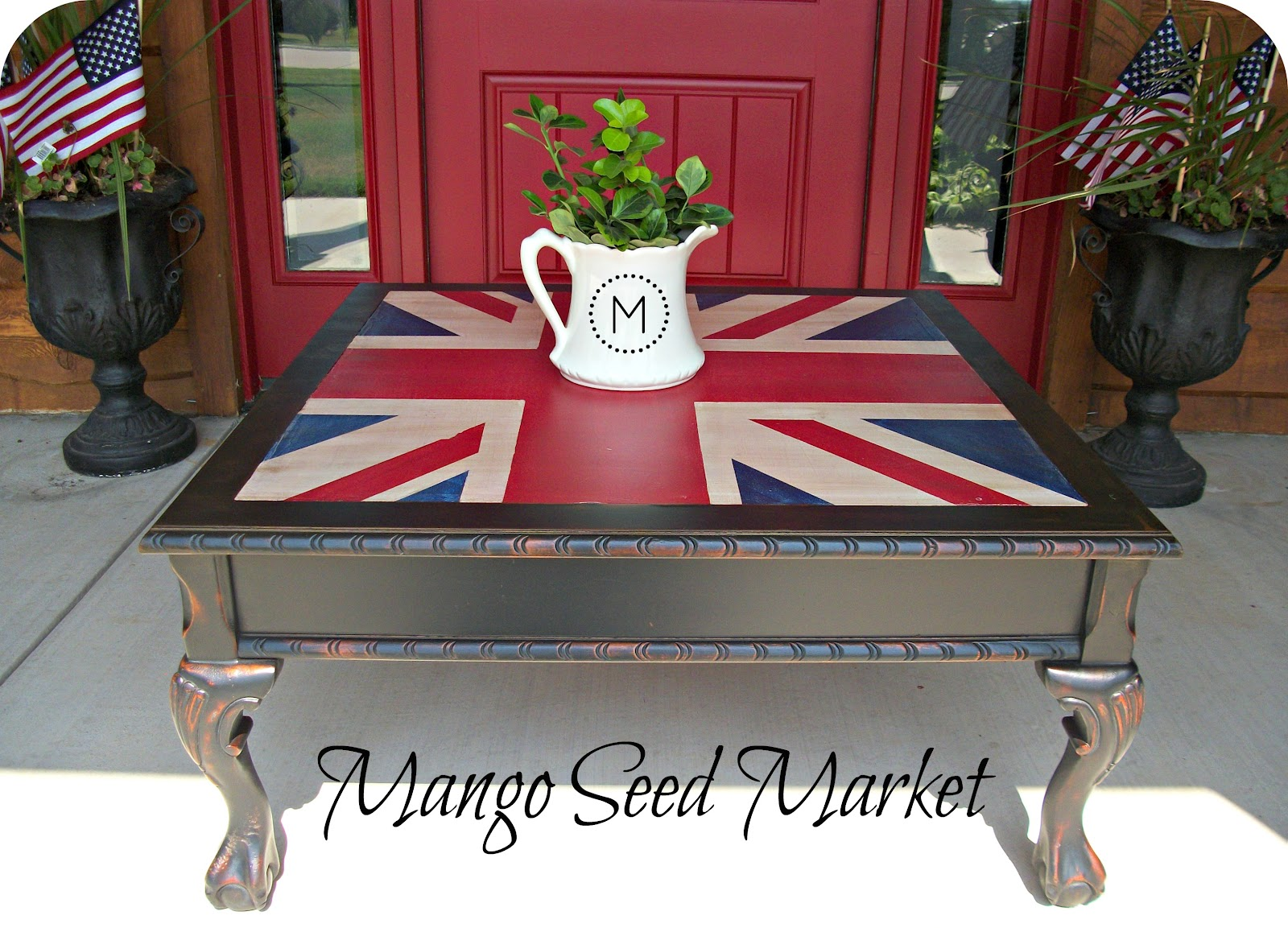 union jack furniture. The Union Jack Design Is Being Used Everywhere Around Blogland Lately And  I\u0027ve Wanted To Paint It But Just Didn\u0027t Have The Right Piece Of Furniture For It. Union Jack K