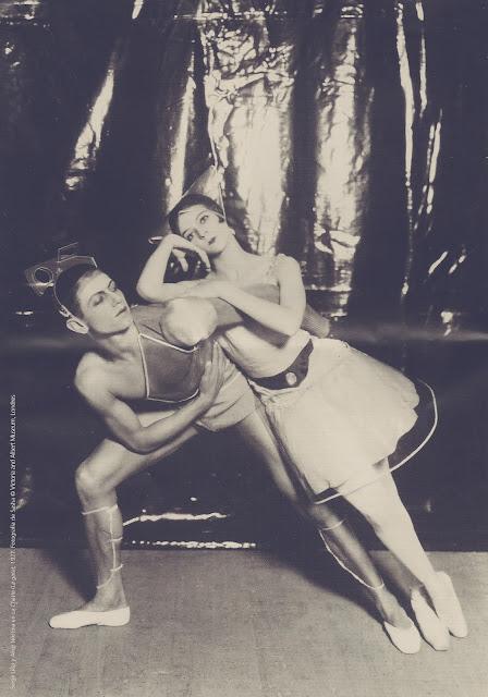 Serge Lifar y Alice Nikitina en La Chatte