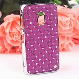 Hot Luxury Bling Diamond Crystal Hard Case Cover For Nokia Lumia 620