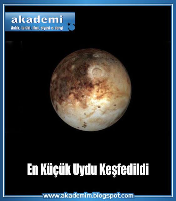 En Küçük Uydu Keşfedildi