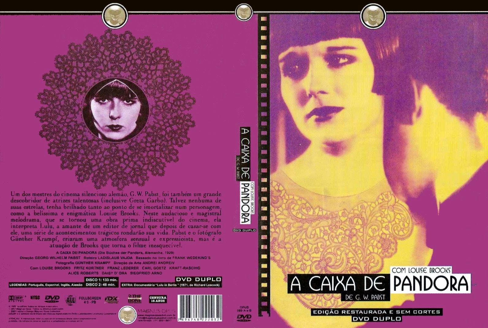 Capa DVD A Caixa De Pandora