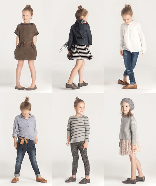 Inspiration from kids clothes say yes - Zara home kids ...