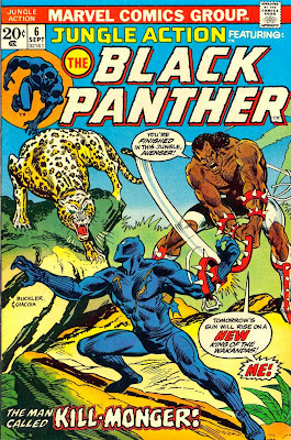 Jungle Action #6, the Black Panther, Panther's Rage