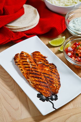 Chipotle Lime Fish Tacos on Closet Cooking