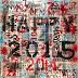 Happy 2015 - 100 x 100cm