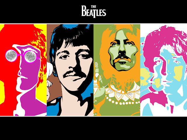 the beatles warhol, the beatles wallpaper