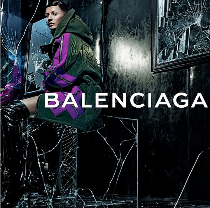 Gisele Bundchen x Balenciaga Fall 2014 Campaign