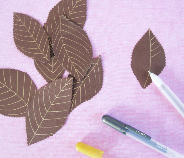 Momichka how to make paper leaves how to make paper leaves mightylinksfo