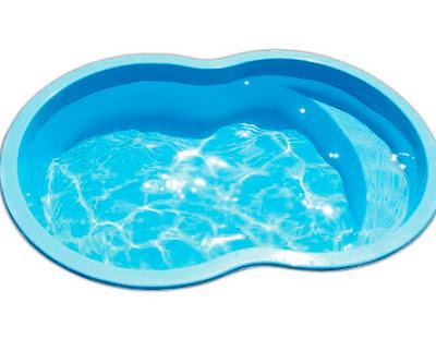 Foto de piscina infantil fibra