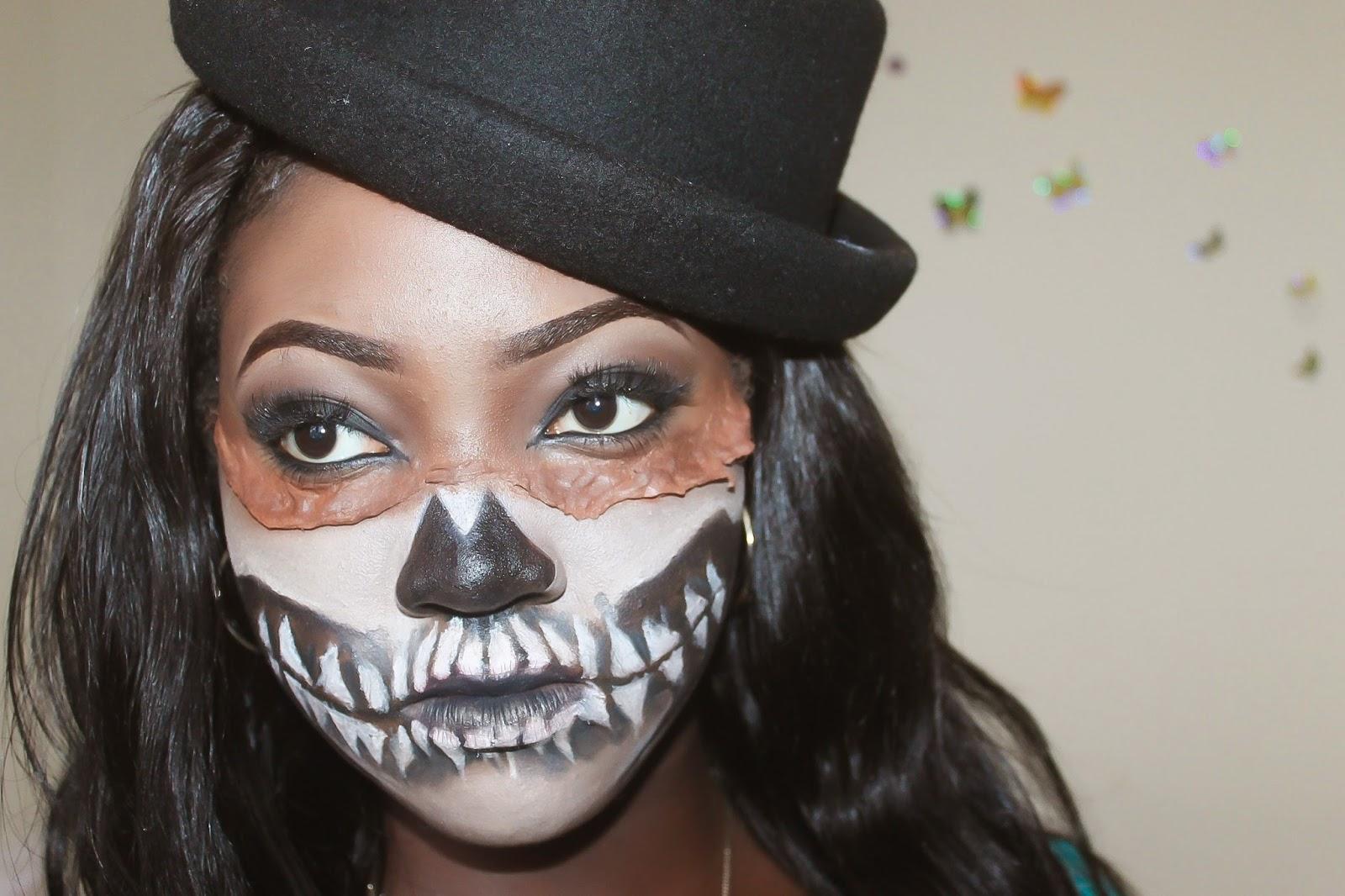 UWANI ALIYU: FX MAKEUP - in the spirit of halloween