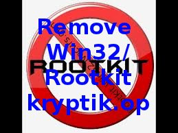 entfernen Win32/Rootkit kryptik.op
