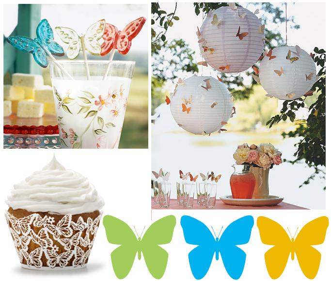 Butterfly party decorations party favors ideas - Decoracion con mariposas ...