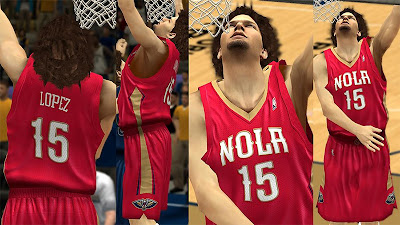 NBA 2K13 NOLA Pelicans Alternate Jersey Mod