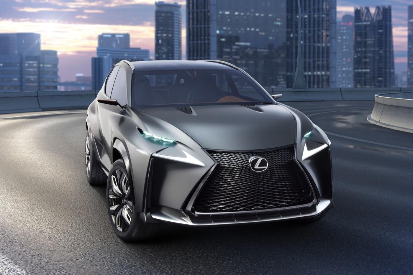 2014 Lexus LF-NX concept