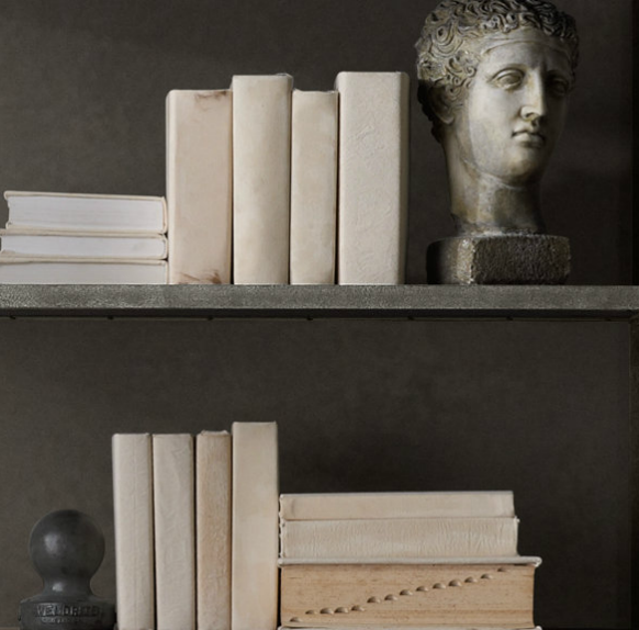 ~restoration hardware ish looking book covers~