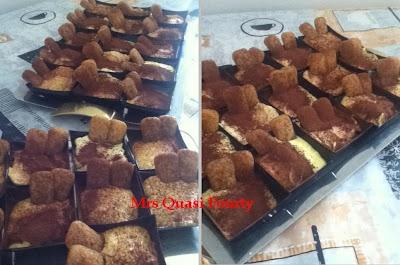 monoporzione miniporzione tiramisù dolce per comunione