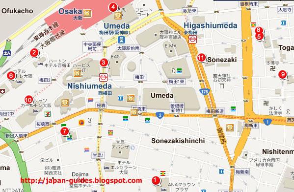 รีวิวโรงแรมในโอซาก้า Hotel Reviews In Osaka