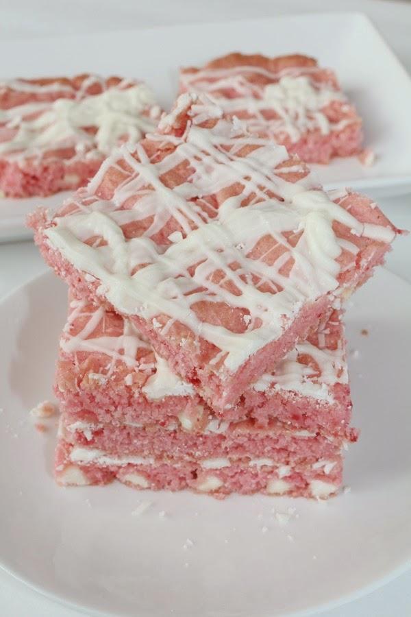 strawberry white chocolate chunk brownies recipe
