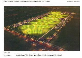 Elk Grove Soccer Fields and Stadium