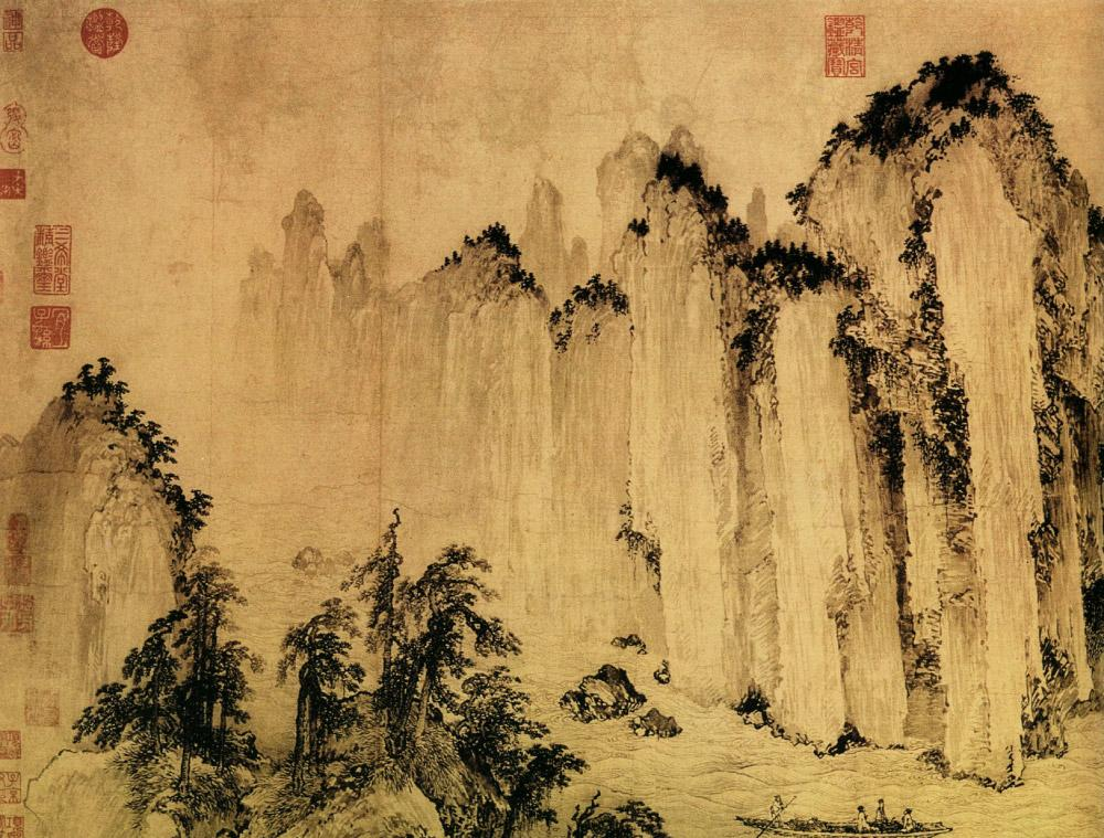Art history for beginners art history cave to renaissance for Chinese mural art
