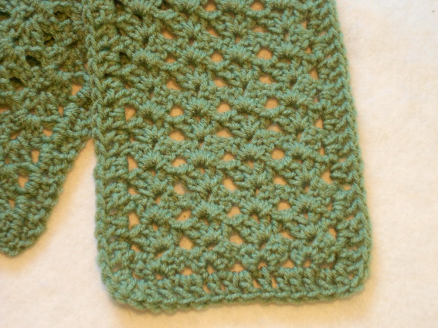 Crochet Stitches Good For Scarves : Basic Scarf Crochet Pattern for Beginners