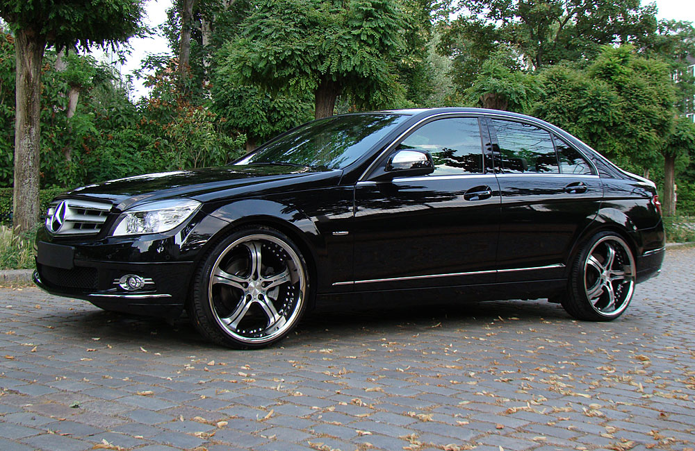mercedes benz c200 w204 by mec design benztuning. Black Bedroom Furniture Sets. Home Design Ideas