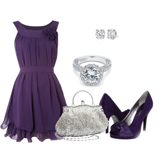 short mother of the bride dress with matching accessories