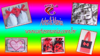 Conheça e siga Artes & Mania! Clic e faça uma visita!