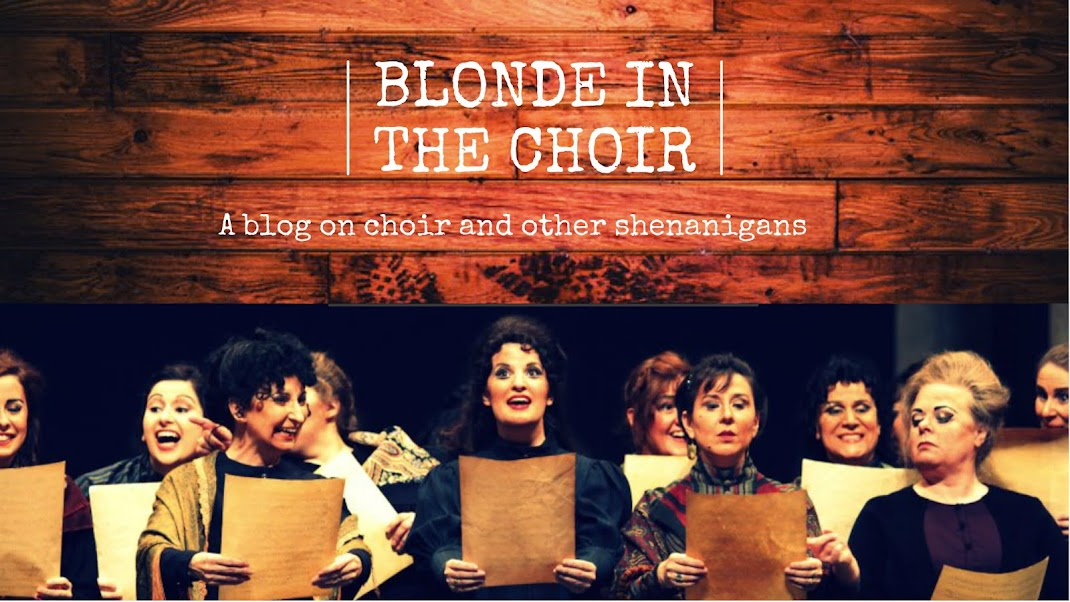 Blonde in the Choir