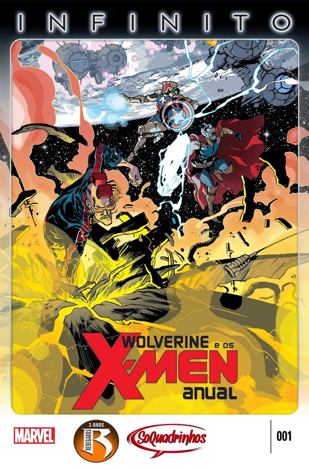 Nova Marvel! Wolverine e os X-Men - Anual #1