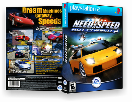 Need for Speed Hot Pursuit 2 PS2
