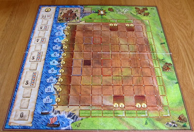 Elasund: The First City of Catan - The board
