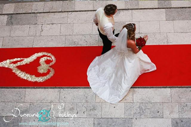 Dubrovnik Sponza palace wedding