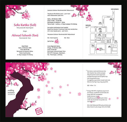 Wonderful weddings the invitation cards for different weddings you are having a japanese themed wedding and want to do homemade printable japanese wedding invitations but arent sure how to go about creating them stopboris Image collections