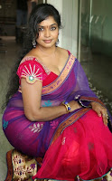 Actress Jayavani hot in transparent saree gallery 2
