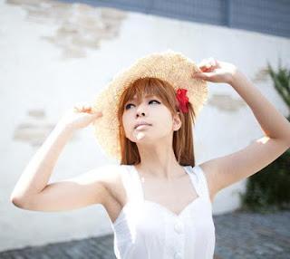 Kanda Midori cosplay as Asuka Langley Soryu from Neon Genesis Evangelion
