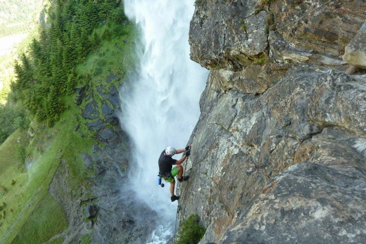 Klettersteig Fallbach : Aufdiebergbinigern: klettersteig fallbach maltatal