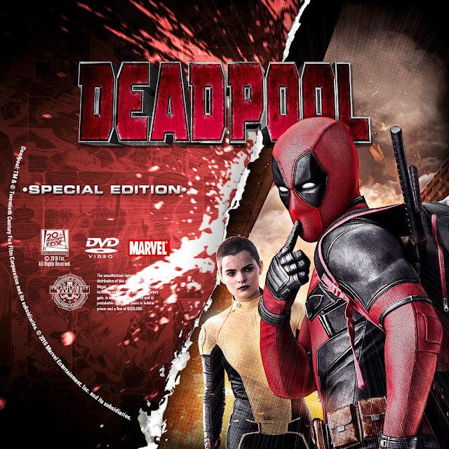 Label DVD Deadpool