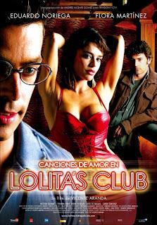 Canciones de amor en Lolita's Club Poster