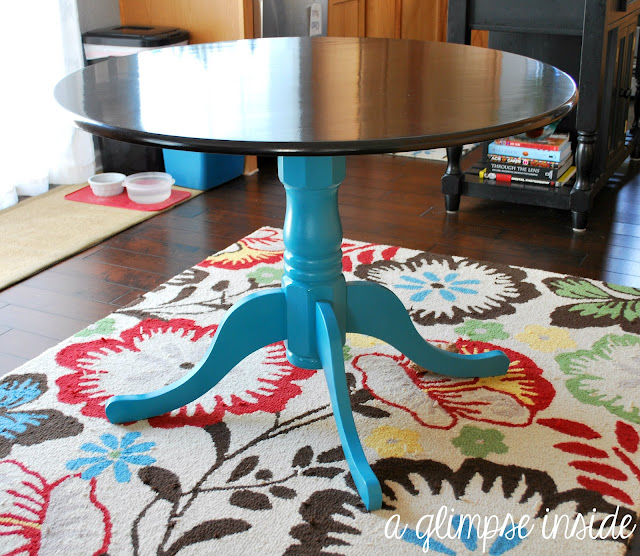 http://www.aglimpseinsideblog.com/2012/08/round-table-makeover.html