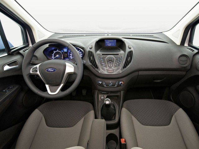 2014 Ford Transit Courier new interior