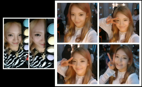SNSD HYOYEON NEW SELCA PHOTO 2013