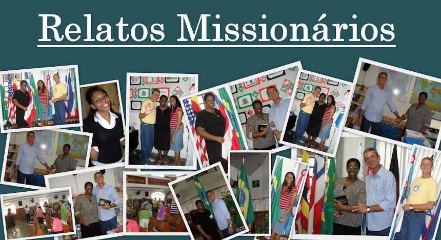 Relatos Missionários
