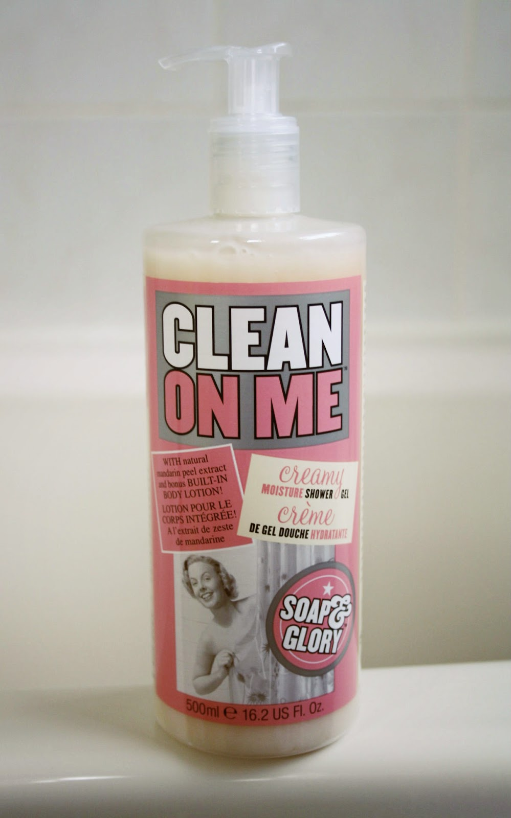 Soap And Glory Clean On Me Shower Gel | Review