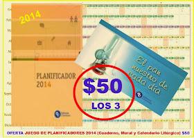 PLANIFICADORES 2014