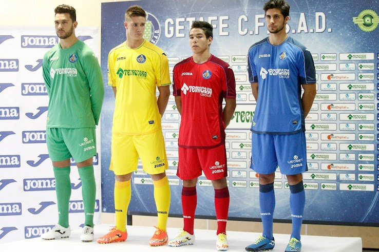 Joma Getafe 14-15 Kits Released