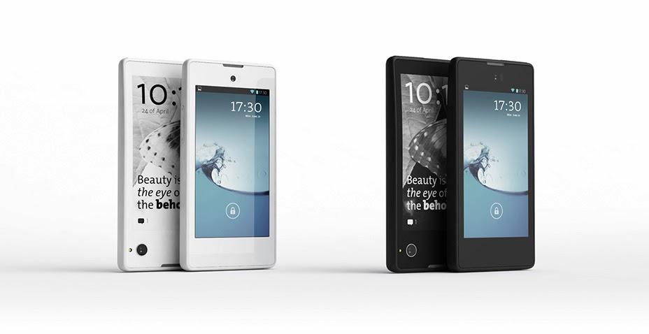 Crna i bela boja Yodaphone telefona