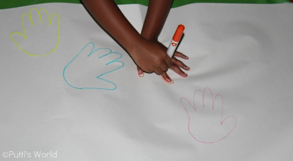 Trace and Decorate hands